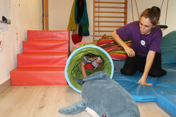 Teràpia ocupacional: integració sensorial